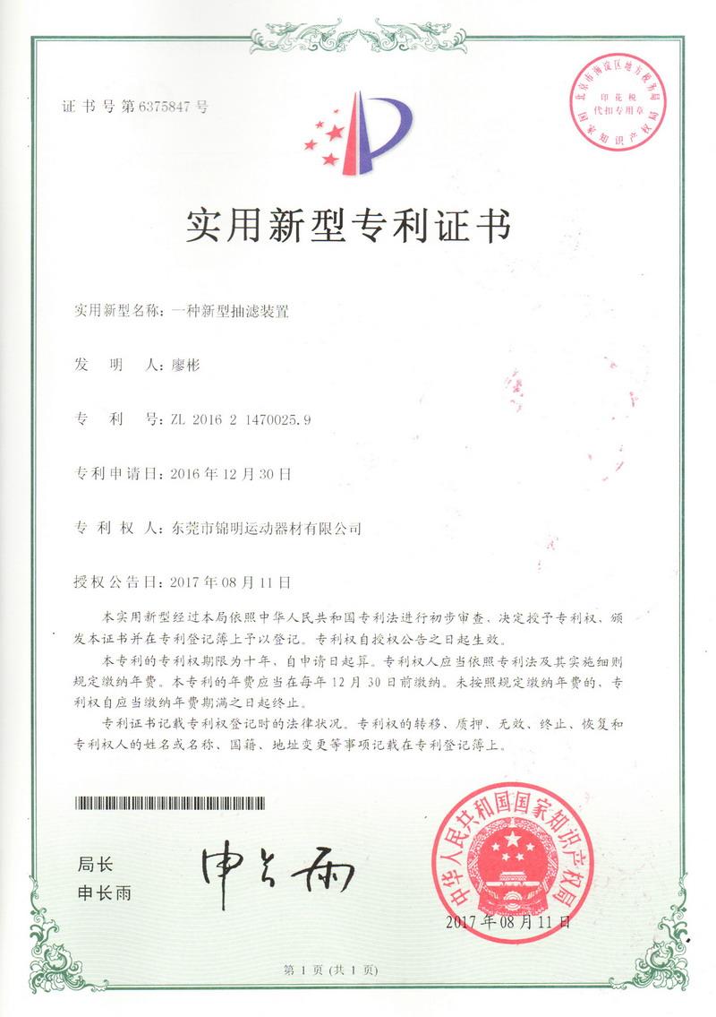 Patent Certificate 03
