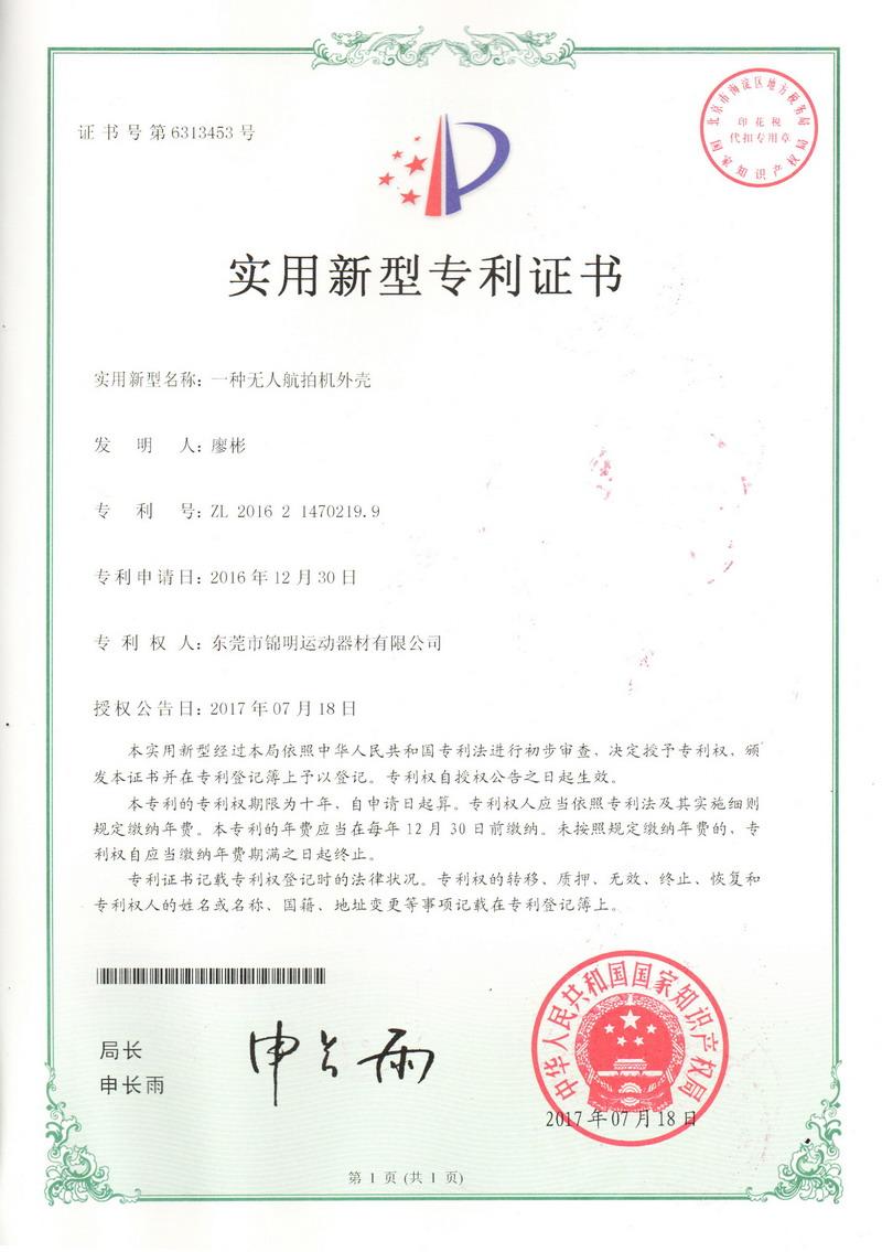 Patent Certificate 04
