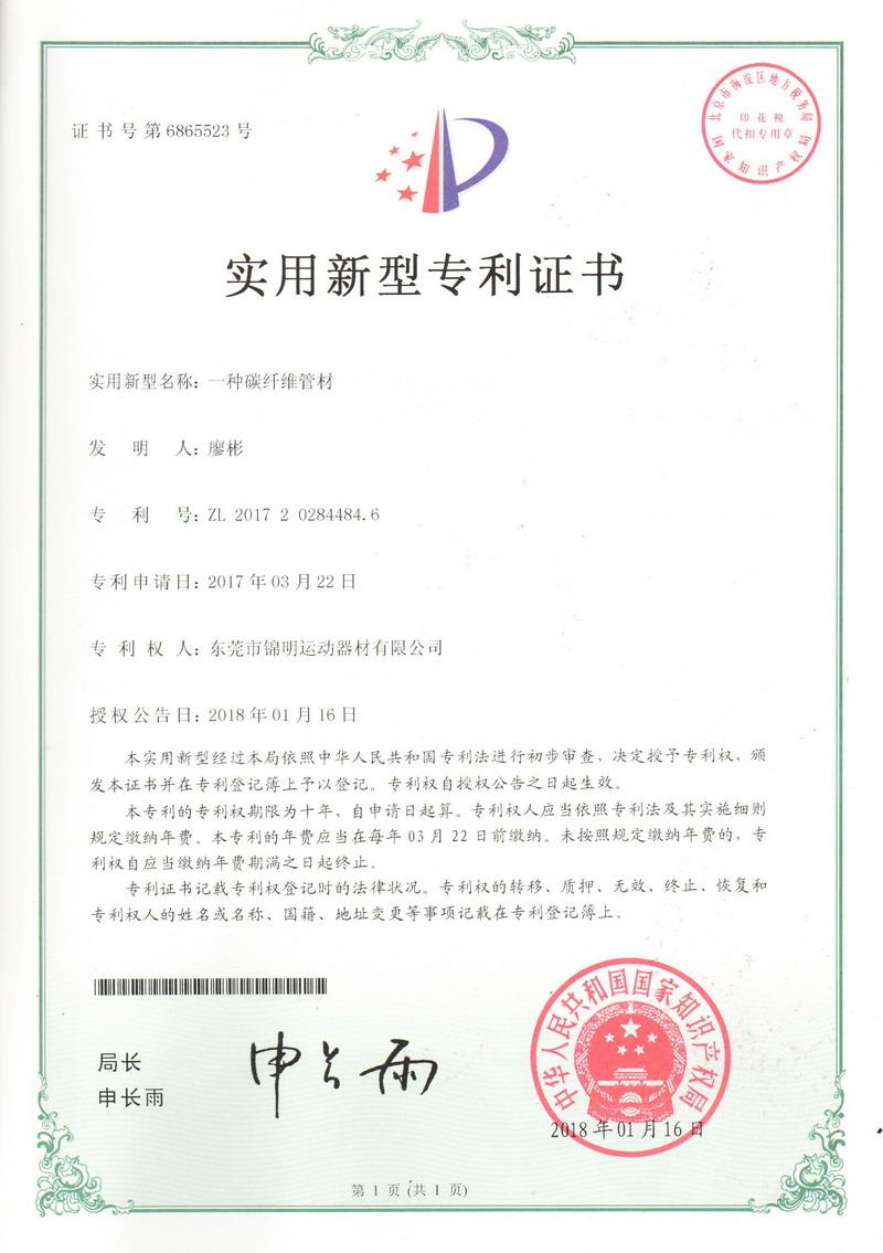 Patent Certificate 11