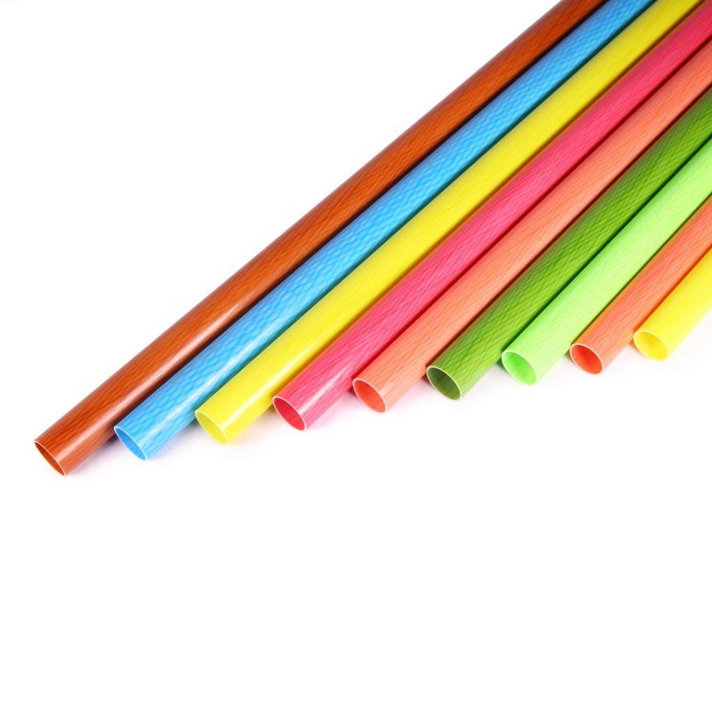 Color Carbon Fiber Tubes